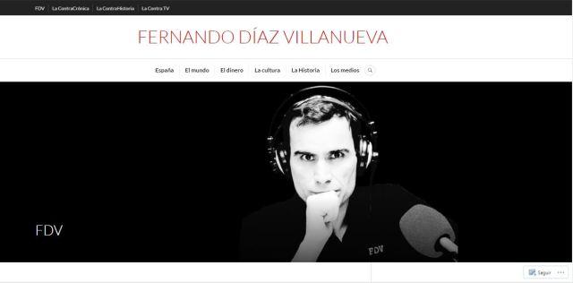 La web de Díaz Villanueva